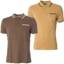 Gabicci Vintage Mens Polo Shirt Knitwear Collared Short Sleeved Top Sizes S-2XL