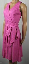 Ralph Lauren Knee Length Sleeveless Pink Dress NWT $159