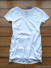 OLD NAVY MATERNITY ~ New! NWT XS L or XL ~ Textured Cotton V-Neck Tee