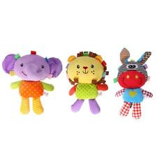 Baby Soft Toys Cartoon Plush Doll with BB Sound Appease Toys for Newborns