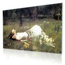 CANVAS (Rolled) Ophelia Waterhouse Wall Decor Painting Canvas For Living Room