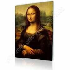 Alonline Art - CANVAS (Rolled) Mona Lisa Leonardo Da Vinci Oil Paintings Prints