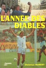 SOCCER FOOTBALL BOOK BELGIUM AT THE WORLD CUP 1986 REVIEW