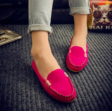 Womens Flats Loafers Slip On Pumps Boat Ballet Spring Cute Ladies Driving Shoes
