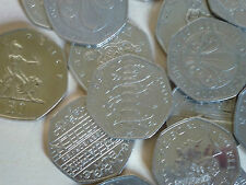 RARE VOTES WWF PETER RABBIT + VARIOUS OTHER COMMEMORATIVE 50p COIN HUNT xxx