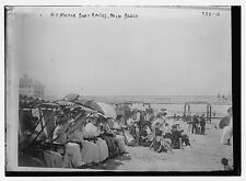 Photo of Crowd on beach for motor boat races, Palm Beach