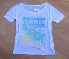 AEROPOSTALE ~ NEW NWT ~ Size M or L ~ NYC SUMMER SERIES CONCERT Boxy Shirt