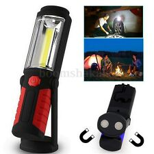3W Magnetic COB + USB Rechargeable LED Light Camping Hanging Handheld Torch Lamp