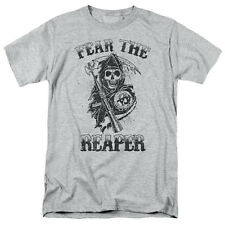 Sons Of Anarchy Fear The Reaper Mens Short Sleeve Shirt