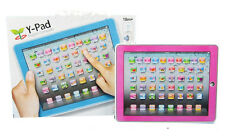 Baby Y pad Toy Touch Tablet Computer Kid Alphabet English Learning Machine Gift