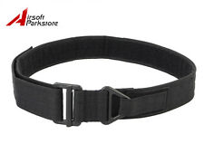 Tactical Emergency Survival CQB Rigger Rescue Nylon Duty Belt Military Black