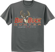 Big and tall shirt for men Southern Pride Buck Hunting deer decal tee shirt
