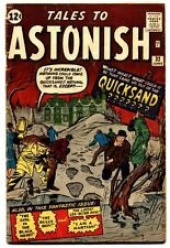 TALES TO ASTONISH #32 comic book 1962-MARVEL-JACK KIRBY-STEVE DITKO ART