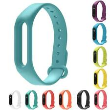 Replacement Wristband Band Strap + Metal Buckle For Xiaomi Mi Band 2 Bracelet