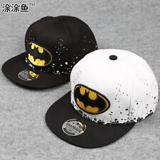 New Boy Kids Hip-Hop SnapBack Batman Baseball Cap Fashion Adjustable Sports Hats