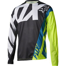 Fox Mtb Demo Ls Mens Jersey Bike - Creo Black Yellow All Sizes