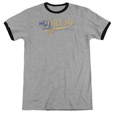 Friday Night Lights Team Spirit Mens Adult Heather Ringer Shirt Heather/Black