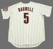 JEFF BAGWELL Houston Astros 2001 Majestic Throwback Home Baseball Jersey
