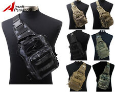 1000D Tactical Molle Shoulder Bag Chest Pouch Backpack Military Outdoor Hunting