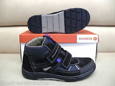 Ricosta Don Boys Waterproof Boots in Blue Brand New in Box