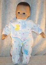 "Doll Clothes fit American Girl Bitty Baby 16"" inch Pajamas Footed Ducks Bears"