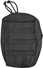 Tactical Assault Gear MOLLE Utility Upright Pouch, Black 811975 Carry Pouch