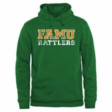 Florida A&M Rattlers Kelly Green Classic Wordmark Pullover Hoodie - College