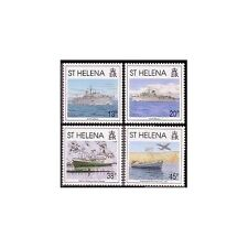 St Helena 575-578,MNH.Michel 576-579. Liberation of Falkland,10th Ann.1992.Ships