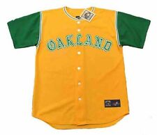 REGGIE JACKSON Oakland Athletics 1968 Majestic Cooperstown Throwback Jersey