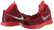 Nike Lunar Hyperquickness TB Men's Basketball Shoes NIB Red/Silver 652775