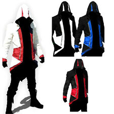 2017 Hot Stylish Creed Hoodie Men's Cosplay For Assassins Jacket Coat Costume