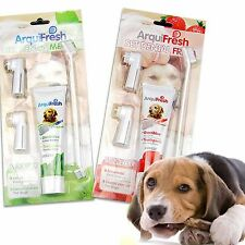 4 in 1 Pet Dog Toothpaste Toothbrush Finger Brush Puppy Health Dental Oral Care