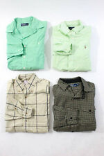 Brooks Brothers Polo Ralph Lauren Ralph Lauren Mens Lot Four Multi-Colored Butto