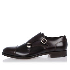 DSQUARED2 New Man Leather brown Shoes Loafer Made in Italy NWT