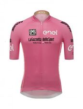 2017 GIRO D'ITALIA Leaders Pink Cycling Jersey (Maglia Rosa) : by Santini