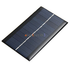 0.5V/6V 0.6W/1W 100mA Epoxy Solar Panel Module Cell Photovoltaic Battery Charger