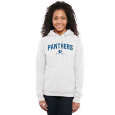Eastern Illinois Panthers Women's White Proud Mascot Pullover Hoodie - College