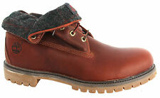 Timberland Earthkeepers EK AF Roll Top Mens Boots Leather Brown 6751R T2