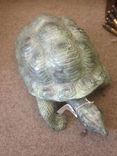 Beautiful Lifesize BronzeTortoise for house and home