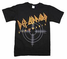 New Black Def Leppard Pyromania Concert Tour Soft Shirt Sm-XL Men's Women's