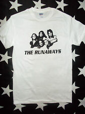 The Runaways glam U.S. punk rock t-shirt sizes S - 3XL+ Joan Jett Lita Ford