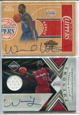 (2) WILLIE WARREN RC 2010-11 PANINI THREADS AUTO /399, LIMITED AUTO JERSEY /249
