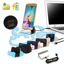 Desktop Charger Dock Station Sync Charger Stand Cradle for Sumsung LG HTC etc.