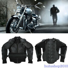 Motorcycle Off-road Racing Rider Body Armor Spine Chest Protective Jacket M-3XL#