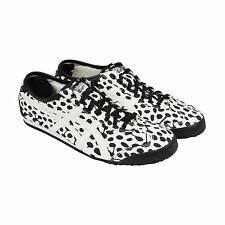 Onitsuka Tiger Mexico 66 Mens White Leather Lace Up Lace Up Sneakers Shoes