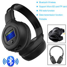 Stereo Wireless Bluetooth 3.0 Headset Headphone With Call Mic Support FM SD NEW