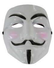Adult Guido Guy Fawkes V Anarchist Vendetta Anonymous Mask Accessory Bundle