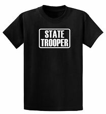 State Trooper Logo Child's One-Piece or T-Shirt 6mos - XL Youth