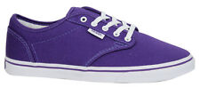 Vans Atwood Low Unisex Canvas Lace Up Purple Trainers Plimsolls NJO5SY U3