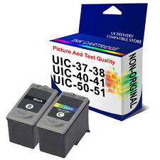 REMAN Ink Cartridge For Canon PG37 CL38 PG40 CL41 PG50 CL51 Printer